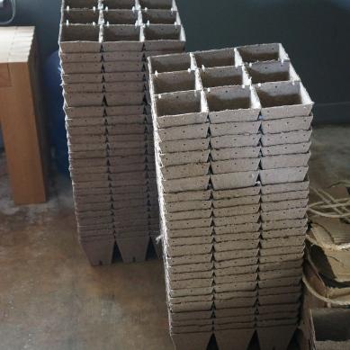 The assembled modular units