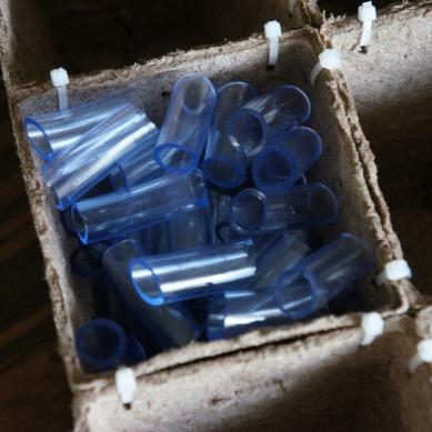 Custom cut plastic tubing