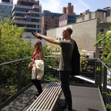A Belvedere on Section 2 of the High Line